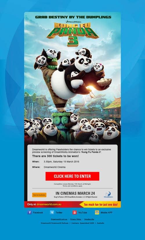 Kung Fu Panda Passholder EDM
