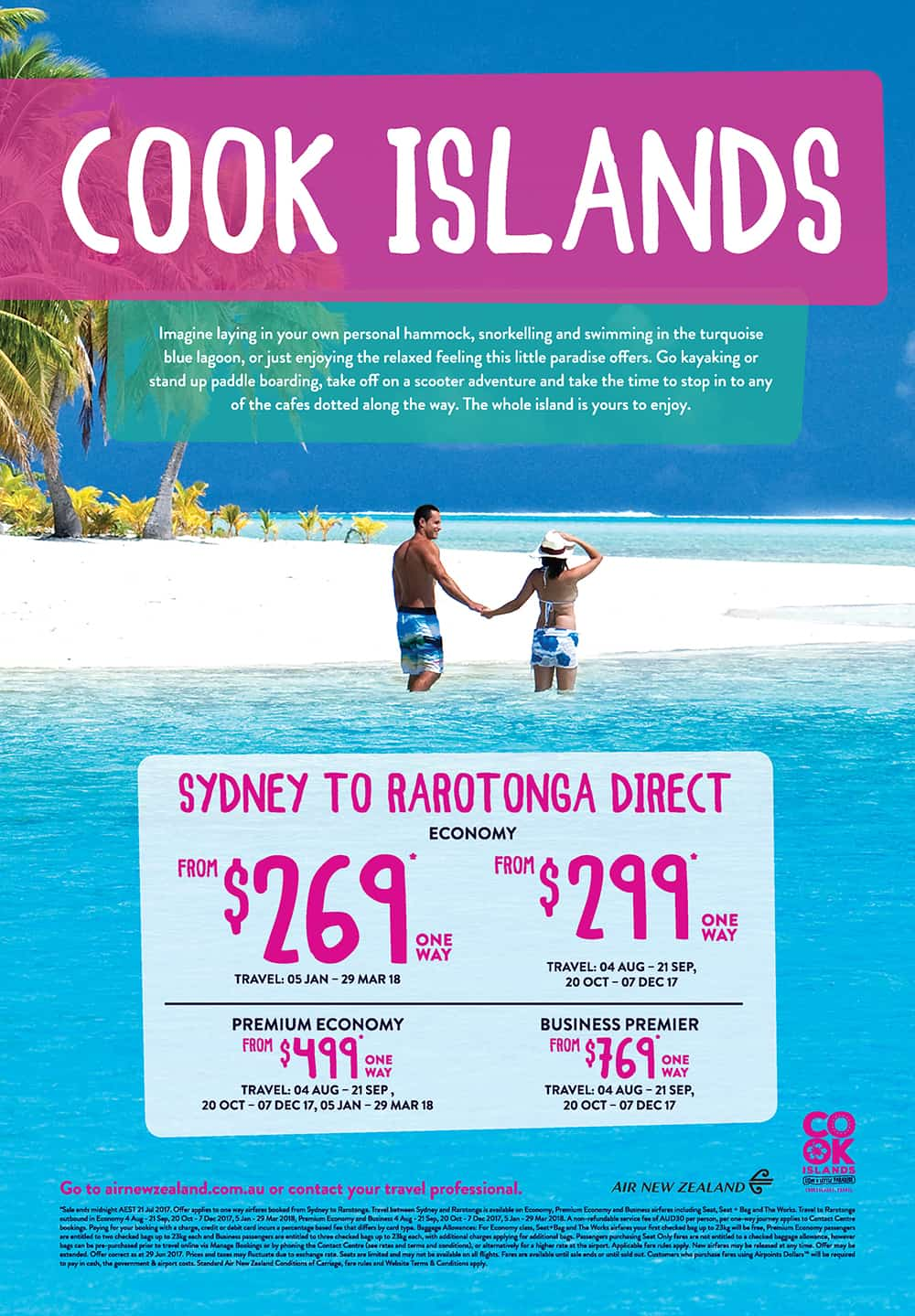 Cook Islands Full Page Ad