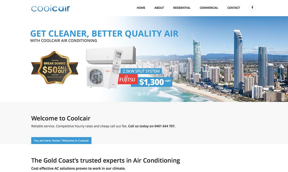 Coolcair Website