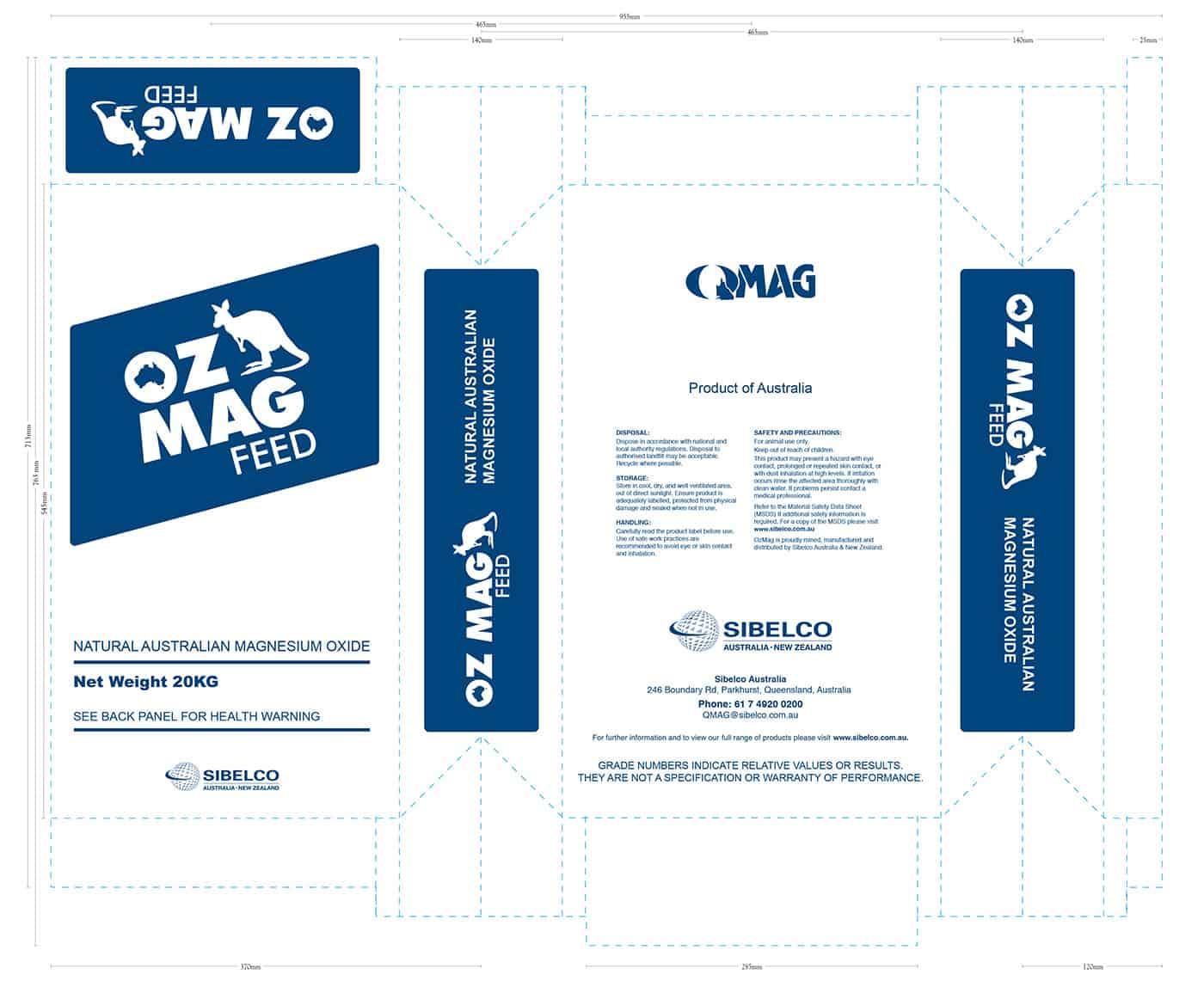 OZMAG Feed Packaging