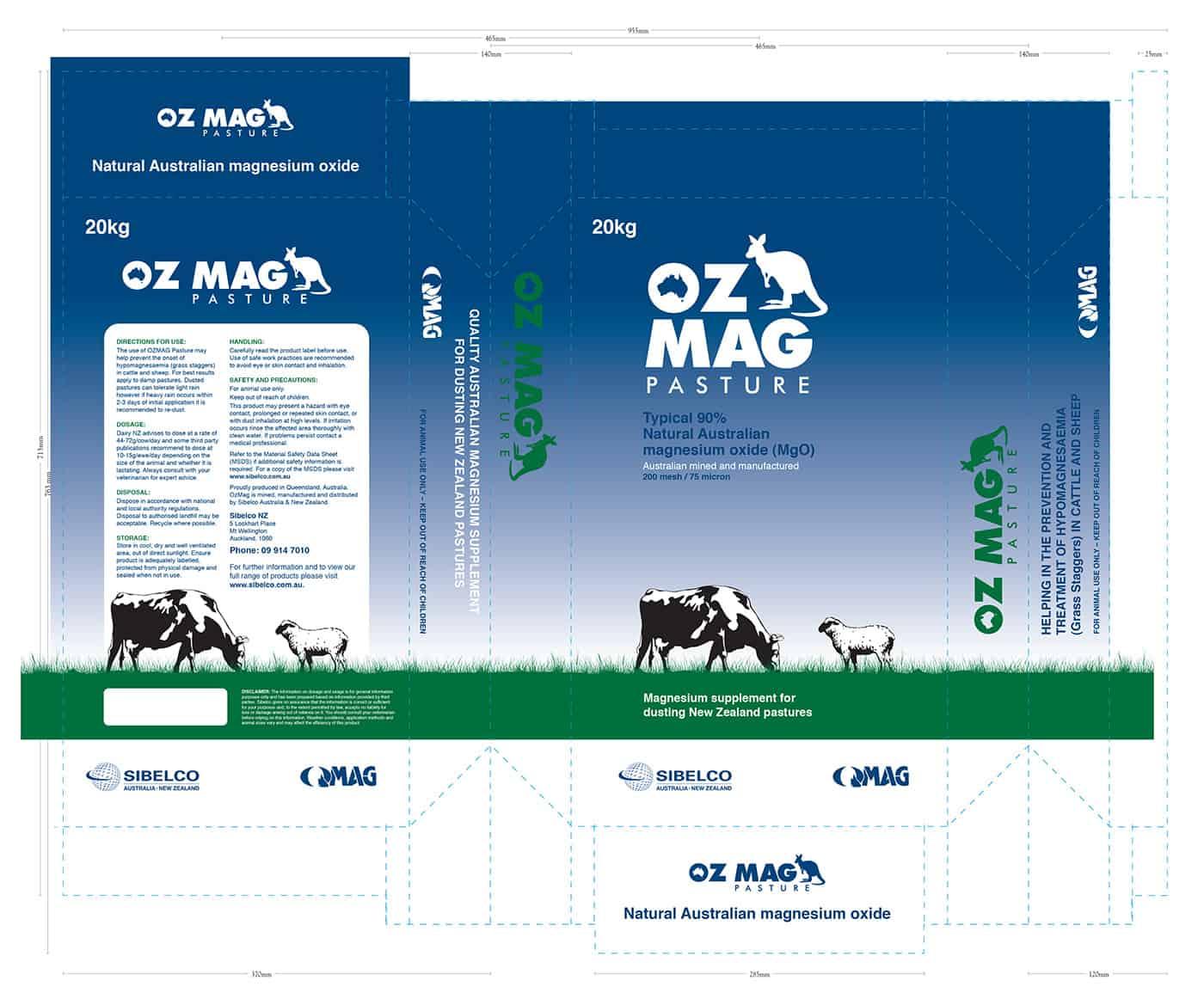 OZMAG Pasture Packaging